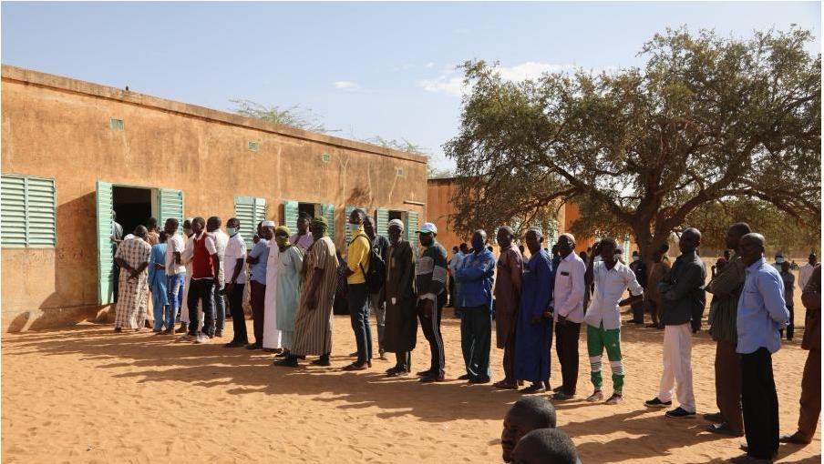 尼日尔举行第二轮总统选举