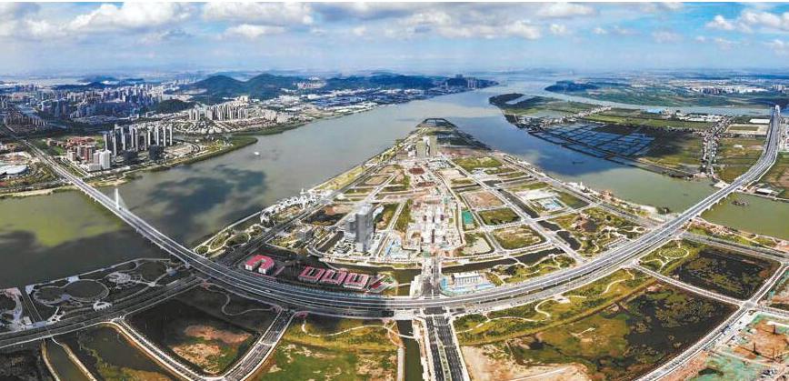 广州南沙加强港澳合作建设百年科学城