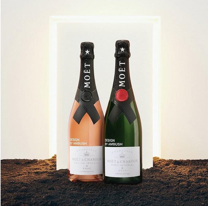 香奈儿销售经典香水巴斯,潮牌伏击联合推出MOET&CHANDON香槟