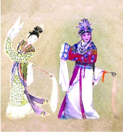 """史依弘与""""上元夫人""""历史性同影"""